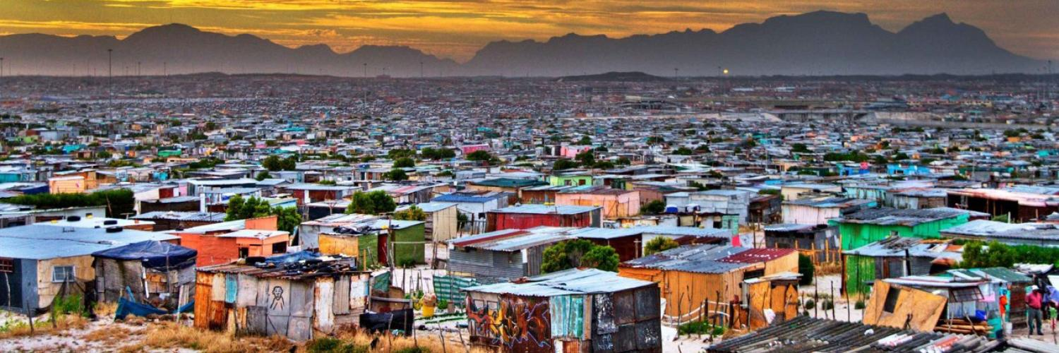 Khayelitsha, South Africa: a peri-urban township of around 400000 people 30 km from the centre of Cape Town.