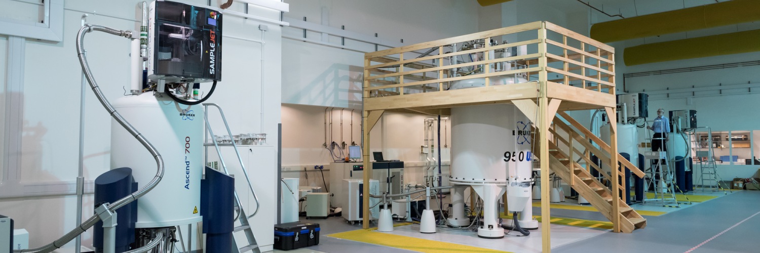 Image of the MRC Biomedical Nuclear Magnetic Resonance Centre.