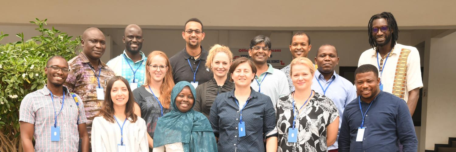 Group photo of the Crick African Network fellows.