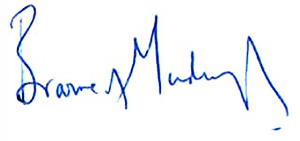 Lords Browne signature