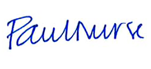 Paul Nurse signature