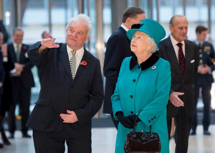 The Queen with Sir Paul Nurse