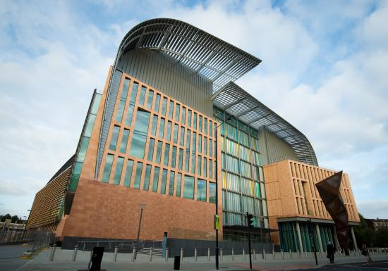 The Francis Crick Institute exterior