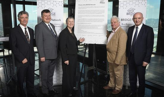 Institute directors at the launch of the BRIDGE network.