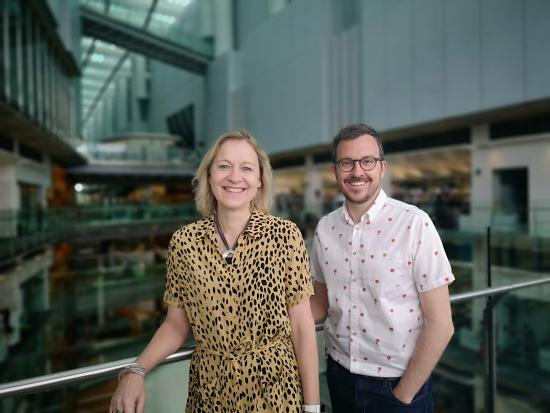 Katrin Rittinger and James Turner, Crick group leaders and newly elected EMBO fellows