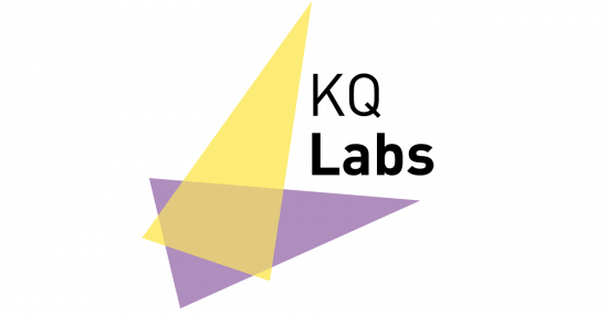 Logo for KQ Labs, the Crick's start-up accelerator.