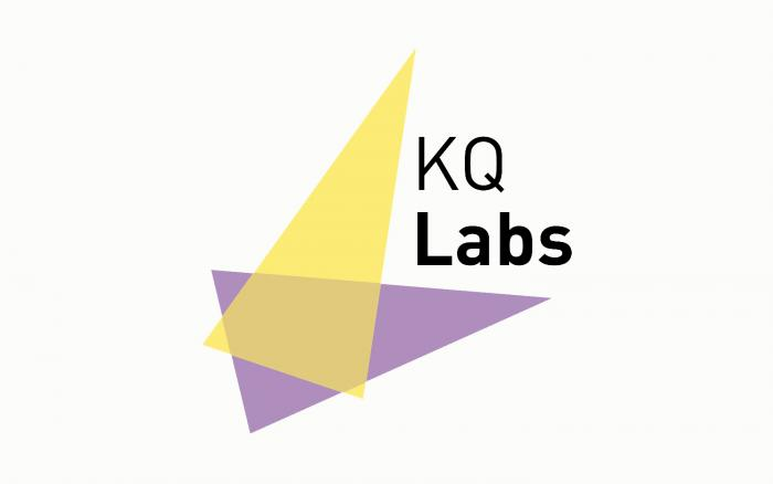Logo for KQ Labs the Crick's start-up accelerator.