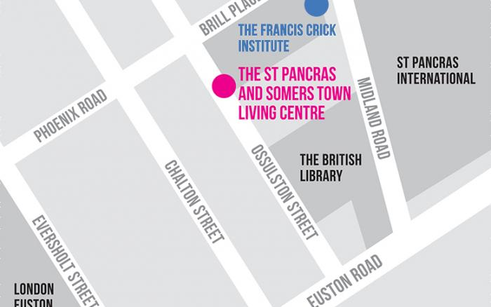 Living Centre map